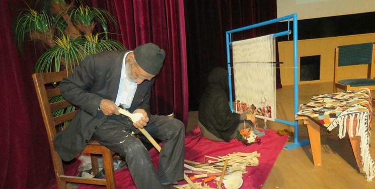 ناگفتههای دستان پیرمرد هنرمند باصفای سوادکوهی