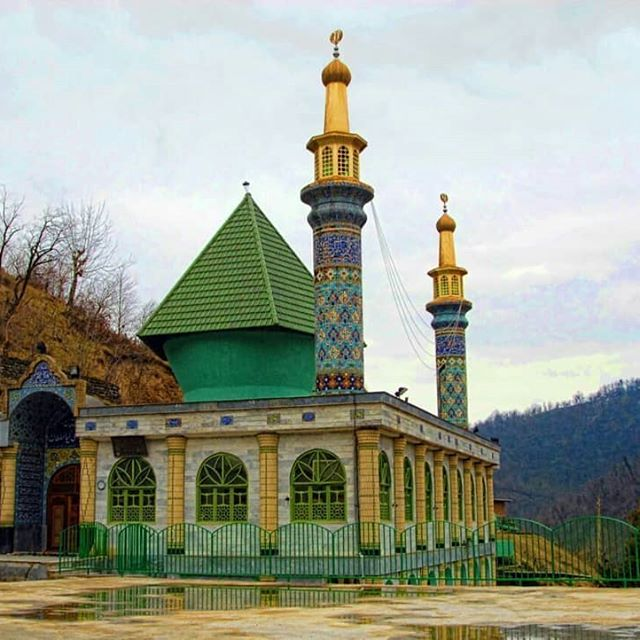 مقصد پنجم کاروان شهدای گمنام در امامزاده سیدعلی کیا سلطان سوادکوه شمالی