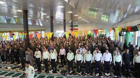 برگزاری صبحگاه مشترک قرآنی نیروهای مسلح سوادکوه شمالی