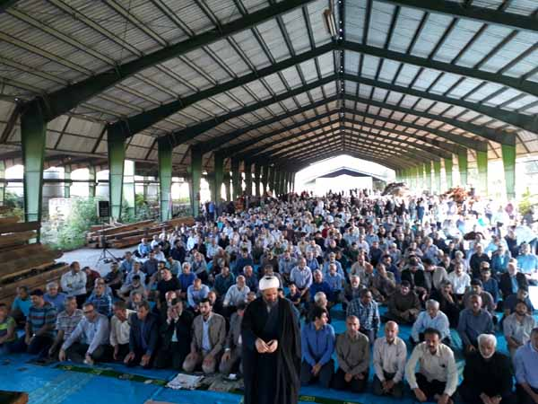 نماز عید سعید فطر در سوادکوه شمالی