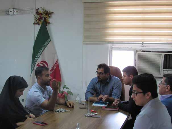 سرپرست هیات اسکیت سوادکوه شمالی با مسئولین این شهرستان دیدار کرد