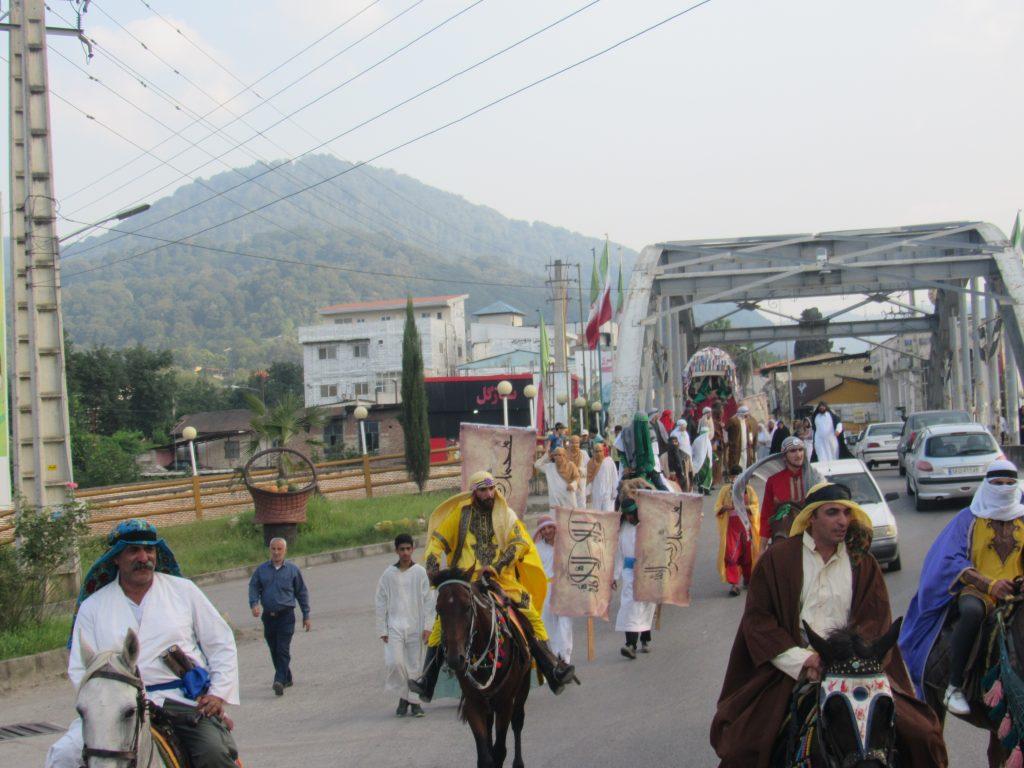بازسازی واقعه غدیر در شهرستان سوادکوه شمالی
