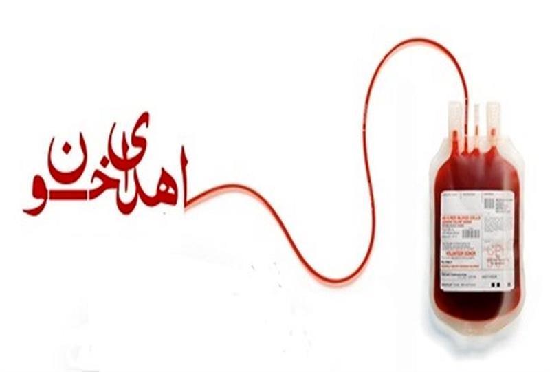 اهدای خون مسئولین و مردم ولایتمدار شهرستان سوادکوه شمالی