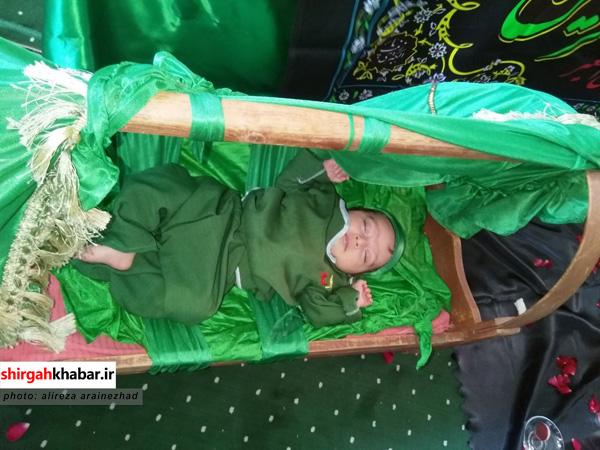 همایش شیرخوارگان حسینی در سوادکوه شمالی