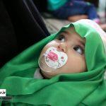 همایش شیرخوارگان در امامزاده سیدعلی کیا سلطان لفور