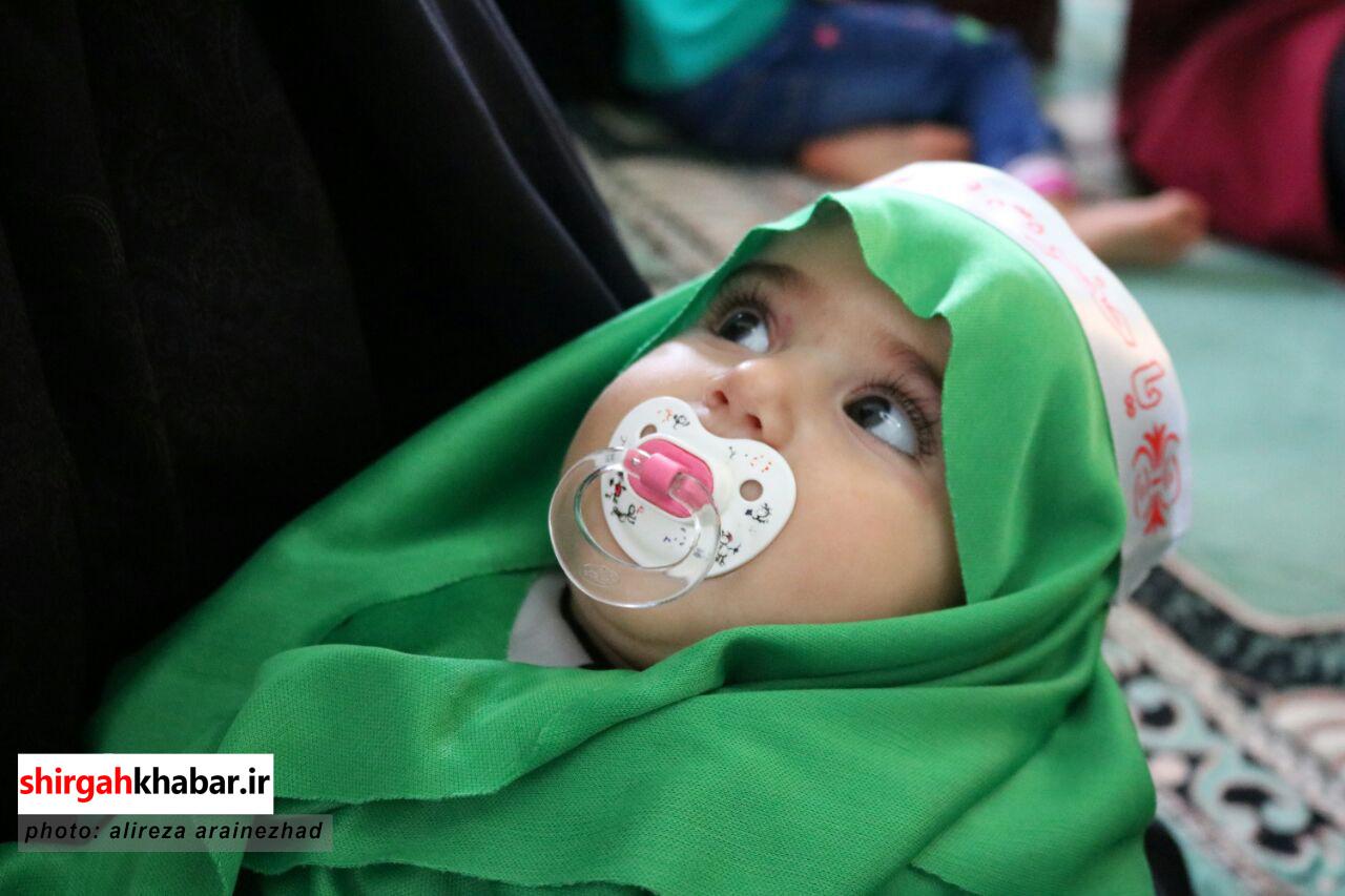 همایش شیرخوارگان حسینی در امامزاده سیدعلی کیا سلطان لفور