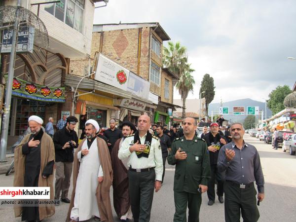 دستههای عزاداری نیروهای مسلح شهرستان سوادکوه شمالی