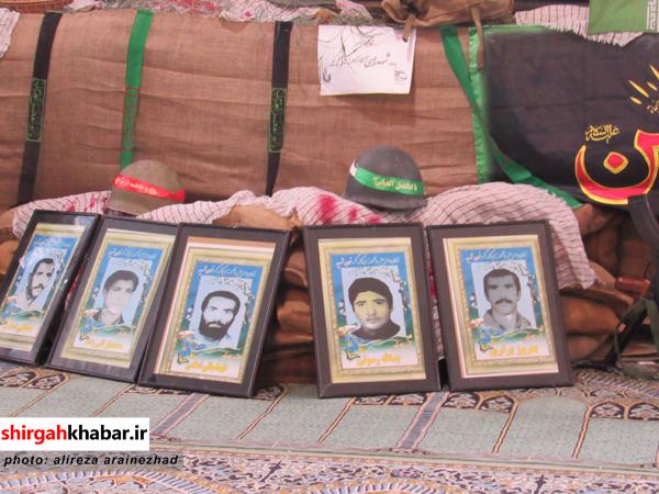 برگزاری یادواره شهدای روستای کلیج خیل سوادکوه شمالی
