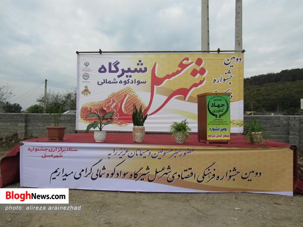 افتتاحیه دومین جشنواره عسل در سوادکوه شمالی