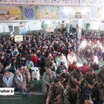 اجتماع بزرگ بسیجیان شهرستان سوادکوه شمالی