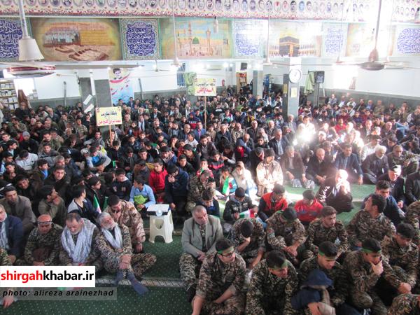 برگزاری اجتماع بزرگ بسیجیان شهرستان سوادکوه شمالی