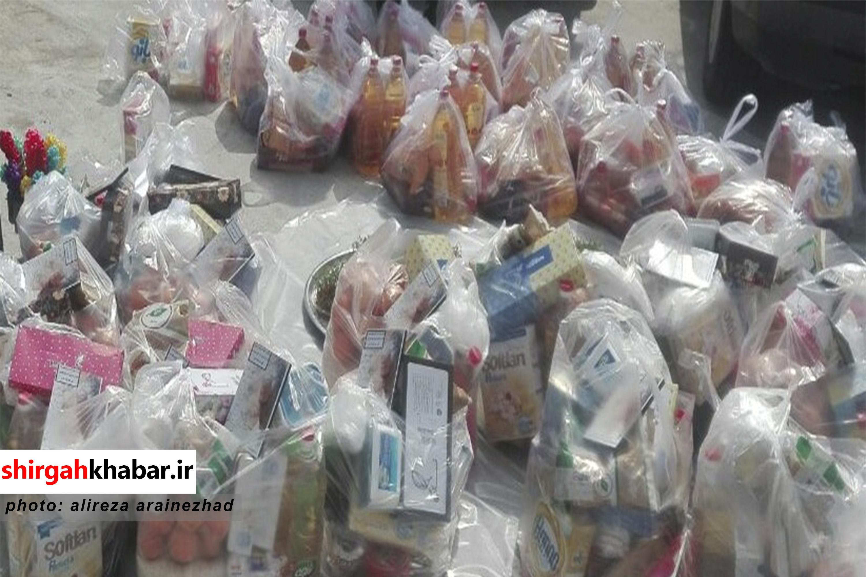 توزیع بیش از ۲۰۰ بسته معیشتی و ۶۰۰۰ بسته بهداشتی در شهرستان سوادکوه شمالی