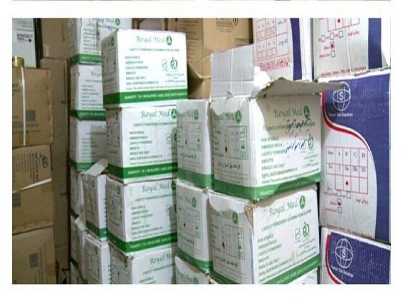 حدود ۶۰۰ هزار عدد دستکش بهداشتی به علوم پزشکی مازندران تحویل شد