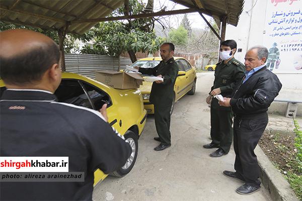 توزیع بستههای بهداشتی در سوادکوه شمالی