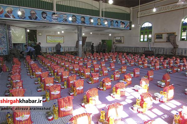مرحله دوم رزمایش کمک مومنانه در سوادکوه شمالی
