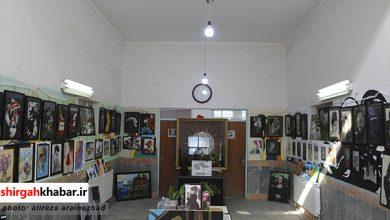 برگزاری نمایشگاه نقاشی در شهرستان سوادکوه شمالی
