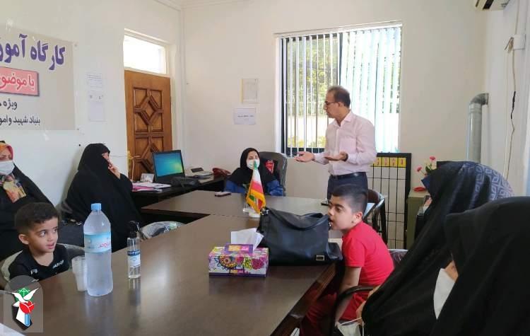 برگزاری کلاس آموزشی ویژه خانواده های ایثارگران سوادکوه شمالی