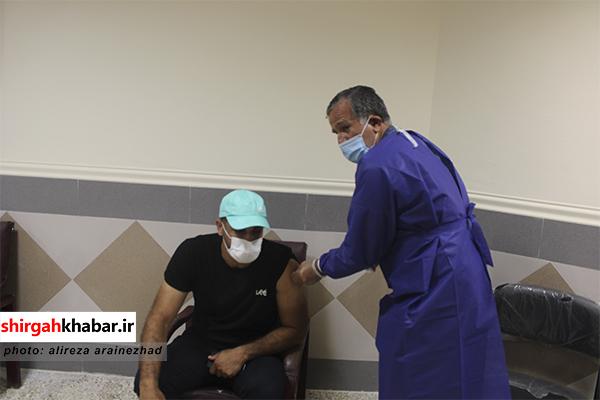 مرکز واکسیناسیون طرح شهید حاج قاسم سلیمانی در شهرستان سوادکوه شمالی