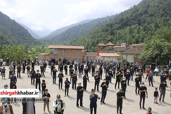مراسم تاسوعای حسینی در منطقه لفور سوادکوه شمالی